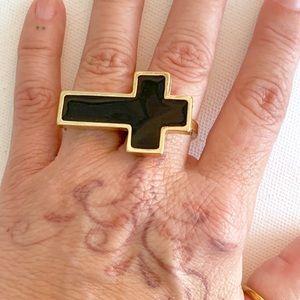 Double Shank Cross Ring